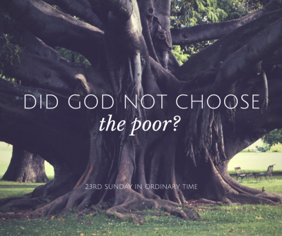 did god not choose the poor