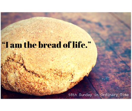 I am the bread of life.