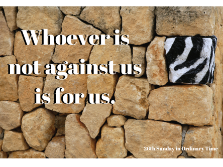 Whoever is not against us is for us.